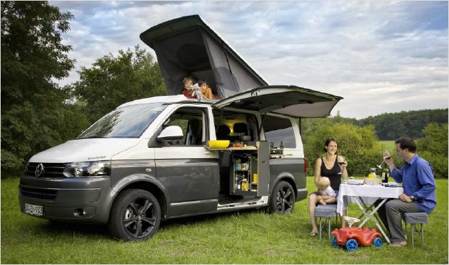 spacecamper vw t5. Black Bedroom Furniture Sets. Home Design Ideas